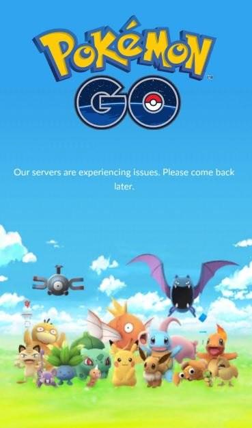 Pokémon a la espera de que descongestionen sus servidores para lanzar Pokémon GO en más países