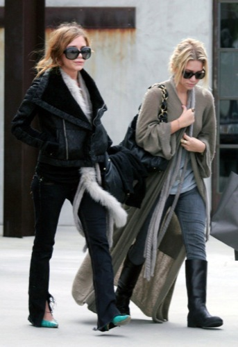 El estilo grunge por Mary-Kate y Ashley Olsen, tendencia 2009 II