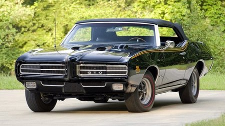 1969 Pontiac GTO The Judge Triple-Black