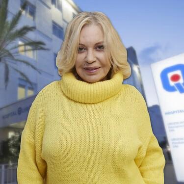 Bárbara Rey, ingresada por COVID-19 en el Hospital Quirón de Marbella