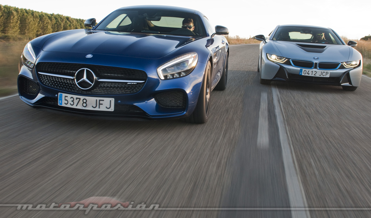 Comparativa Bmw I8 Vs Mercedes Benz Amg Gt S Fotos Dinamicas 1 31