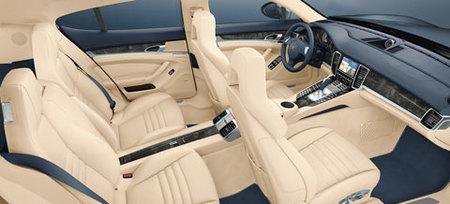 El interior del Porsche Panamera