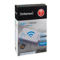 Disco duro externo Intenso Memory 2 Move Pro, con 1TB de capacidad y conectividad WiFi, por 73 euros