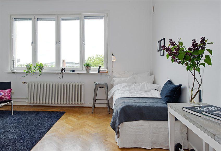 Foto de Puertas abiertas: un apartamento de 38 metros cuadrados de inspiración escandinava (10/12)