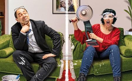 'Bajo el mismo techo': un festival de excesos que intenta ser 'La guerra de los Rose' a la española