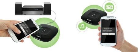 Belkin presenta su nuevo receptor musical con Bluetooth y NFC