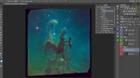Coloreando las fotografías espaciales del telescopio espacial Hubble