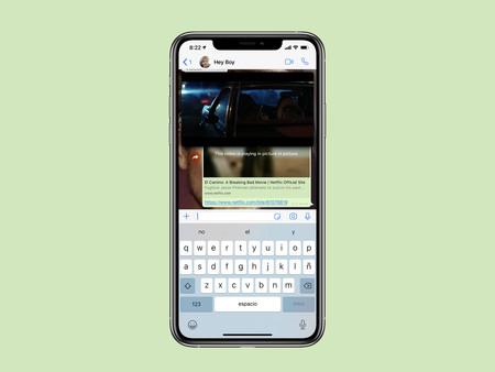 La última versión de WhatsApp para iPhone permite ver tráileres de Netflix directamente en la app