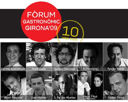 Fórum Gastronómico Girona 2009
