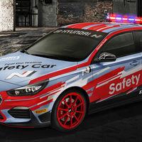 Este Hyundai i30 N Fastback es el nuevo safety car del Campeonato del Mundo de Superbikes
