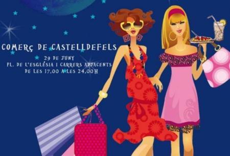 Castelldefels vive esta noche su primera Shopping Night