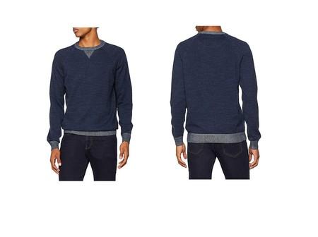 Por sólo 26 euros, en Amazon, tenemos este jersey Pepe Jeans Simon en azul en varias tallas