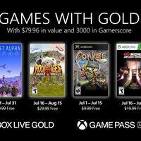 Planet Alpha y Conker: Live & Reloaded entre los juegos de Games with Gold de julio de 2021