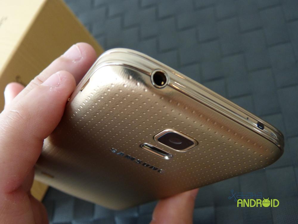 Samsung Galaxy S5 mini, diseño