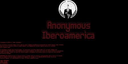 """Anonymous Iberoamerica  """"hackeó"""" el sitio de Conapred en México: dejó un mensaje en el que acusan al gobierno de censura"""