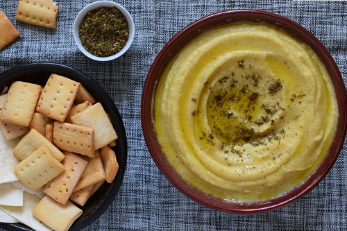 Hummus de calabacín asado: receta con y sin Magimix Cook Expert
