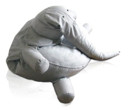 Tanto: siéntate elefante