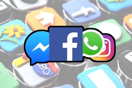 El irregular reparto en las descargas de apps: las apps de Facebook frente al resto