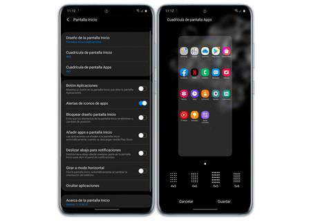 Samsung Galaxy S20 Ultra Software Pantalla Inicio