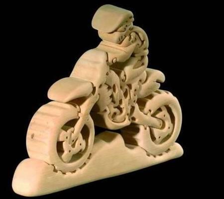 Puzzle Motocross