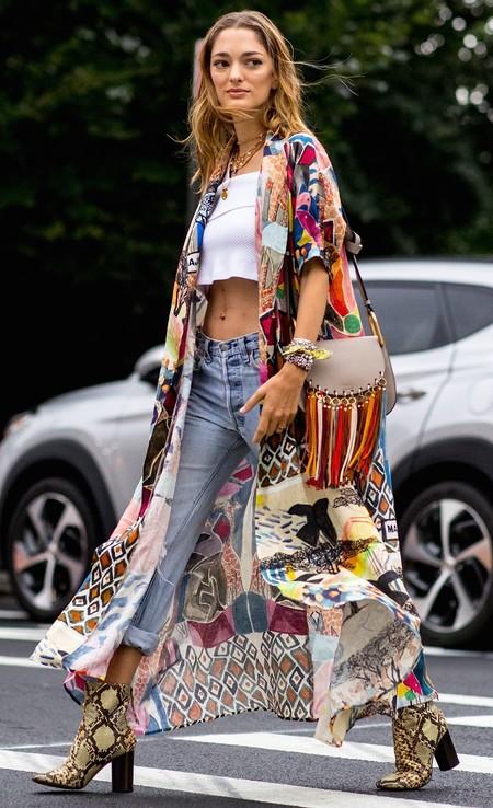 Como Llevar Una Chaqueta Kimono 4