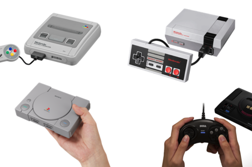 Qué consola retro mini comprar: comparativa entre Megadrive Mini vs. NES Mini vs SNES Mini vs PlayStation Classic
