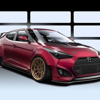 Hyundai Gurnade Veloster Concept, otro debut tuning, listo para el  SEMA Show