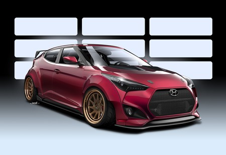 46210 Hyundai And Gurnade Inc Link Up To Create Race Ready Veloster Concept For 1