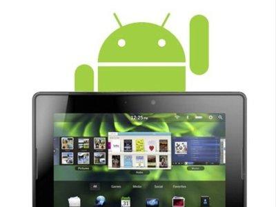 Las aplicaciones de Android llegarán finalmente al Playbook este mes