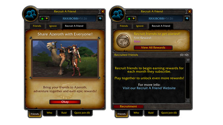World of Warcraft Battle for Azeroth - Actualización