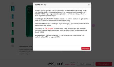 Huawei P40 Lite Hms