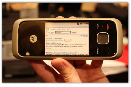 Motorola HS1001, teléfono inalámbrico con Android