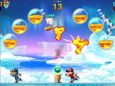 Coge tu mejor arma y prepárate para explotar bolas: llega Pang Adventures