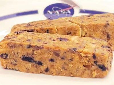 Así serán las nuevas barritas alimenticias que comerán los astronautas