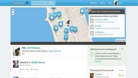 La nueva característica de Foursquare que permite a las empresas enviar avisos a sus clientes fieles y cercanos