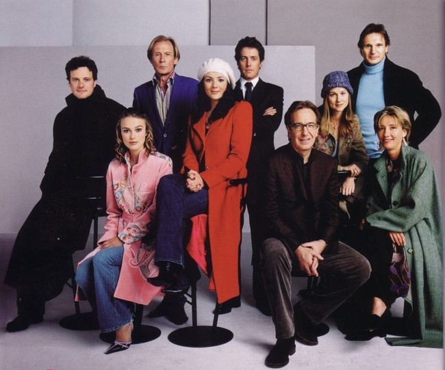 El reparto de Love Actually