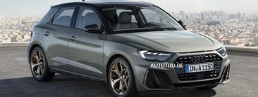 Así de agresivo se muestra el nuevo Audi A1 en estas imágenes filtradas
