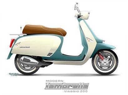 Lambretta Robledo viaggio250