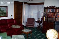 Antes y después: un salón modernizado