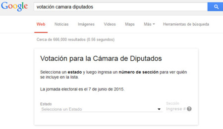Google Elecciones 2015