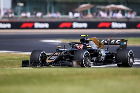 Magnussen Silverstone F1 2019