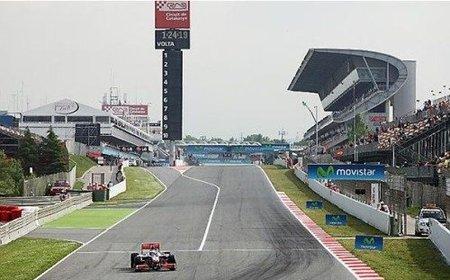 GP de España 2010: Lewis Hamilton, McLaren y Mercedes se desmarcan en los primeros libres