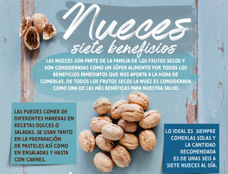 Ideal frutos secos para comer hora