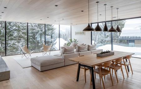 Residencia Gilbert Whistler, una perfecta casa de estilo escandinavo que ofrece mucha calidez y comodidad a sus habitantes
