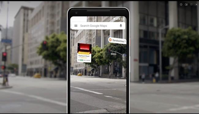 Google Maps Google™ I/O 2018