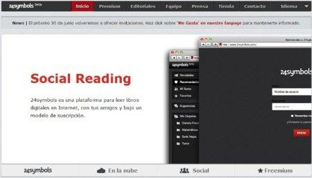 24symbols, el Spotify de los libros sale ahora en beta