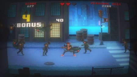 Kung Fury The Game: si te quedaste con ganas de más aquí está el juego