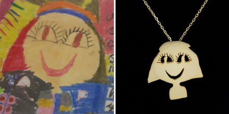 Two Artist Moms Are Turning The Childrens Art To Unique Silver Jewellery 8 880