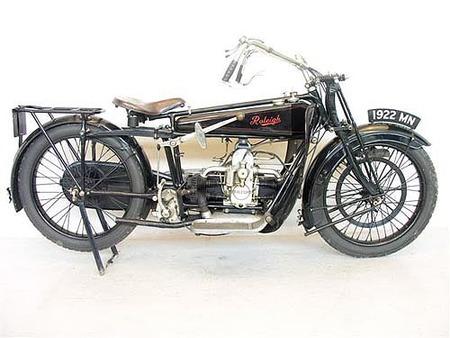La moto más antigua de Inglaterra, vendida