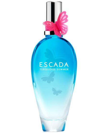 Probamos Turquoise Summer de Escada, porque mi verano huele así